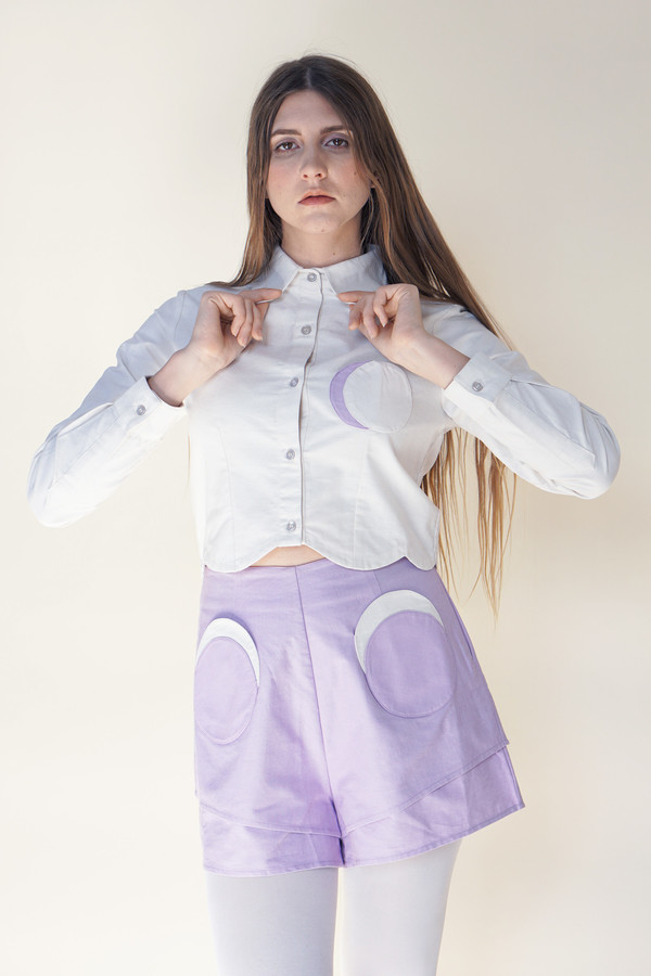 Samantha Pleet Moon Shirt - Ivory