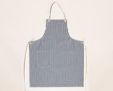Stanley & Sons Cloth Strap Standard Apron - Hickory Stripe