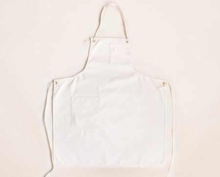Stanley & Sons Selvage Canvas Cloth Strap Standard Apron - Natural