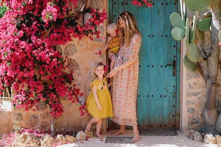 KIDS Louise Misha Summer Dress - Saffron