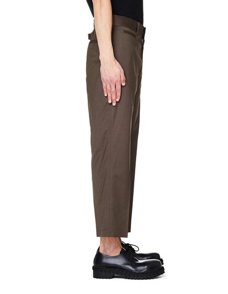 Junya Watanabe Cropped Trousers - Brown