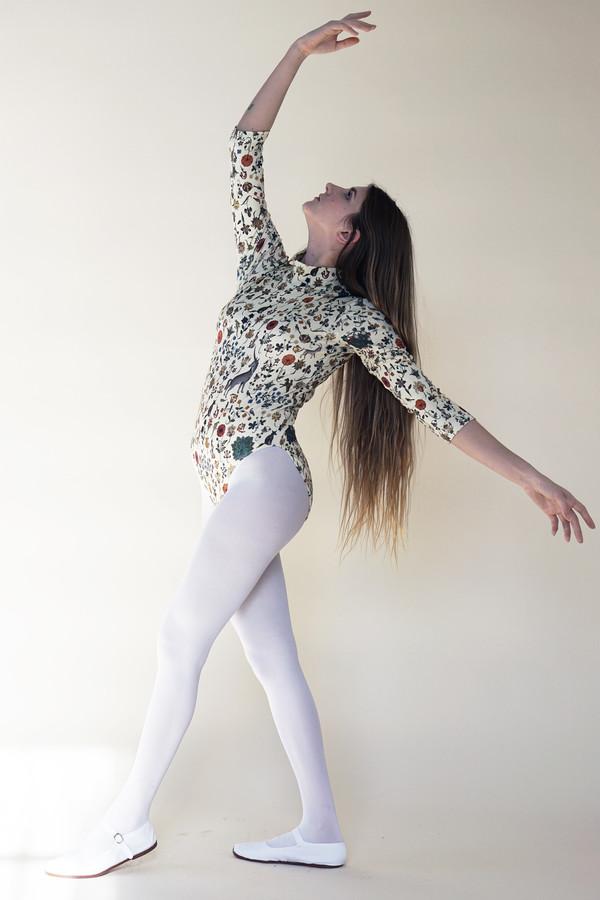 Samantha Pleet Turtle Bodysuit - Illuminated Print