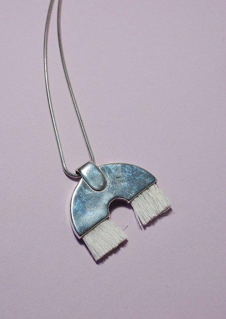 Tiro Tiro Iridis Necklace - Silver