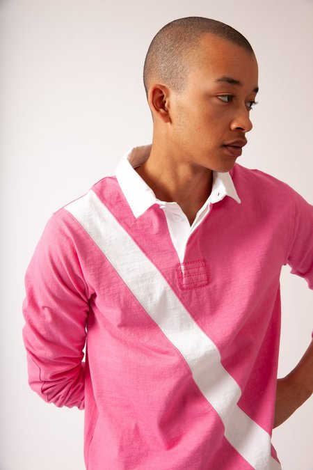 Unisex Magill Andrew Rugby - Pink/White