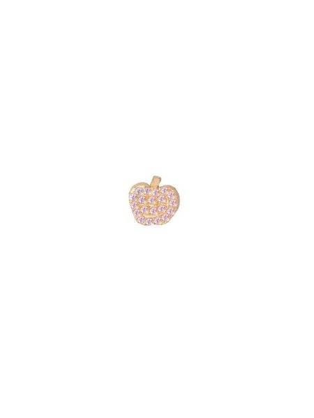 Bianca Pratt Big Apple Sapphire Earring - Gold