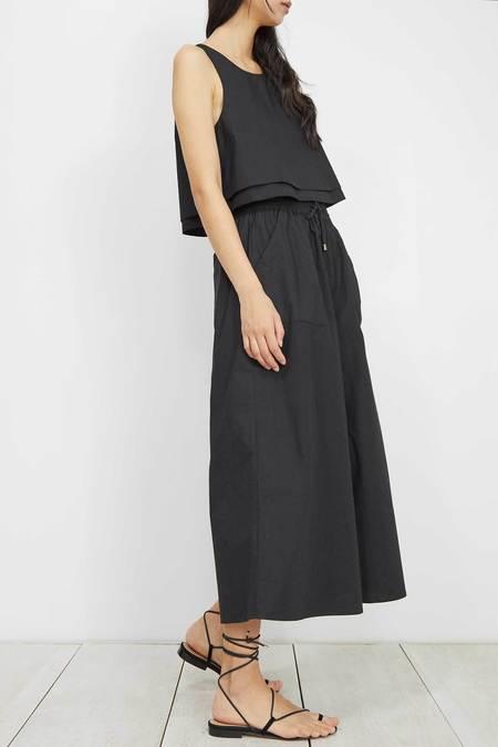 Apiece Apart Galicia Wide Leg Pant - Black