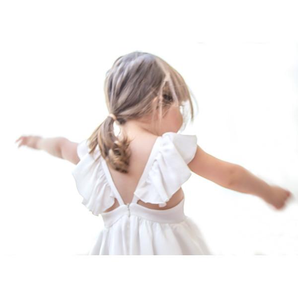 Kid's Blush Girls Butterfly Dress