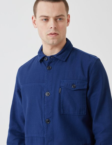 Barbour Seaton Overshirt - Inky Blue