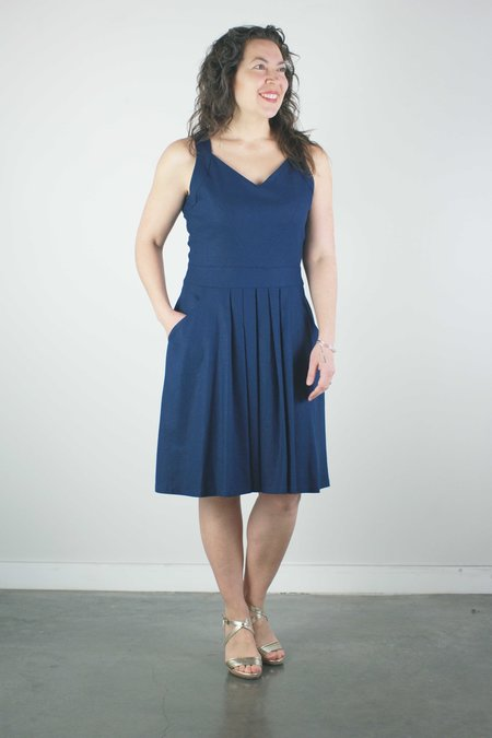 Jennifer Glasgow Rio Grande Dress - Navy