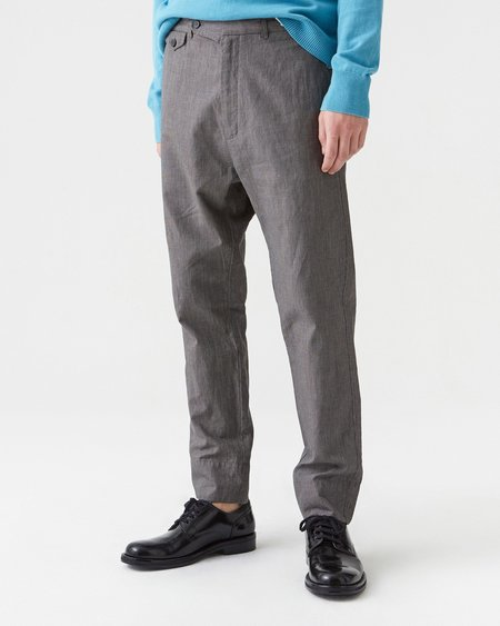 Hope Edwin Trouser - Grey Dogtooth