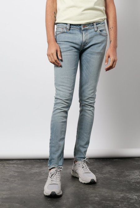 "NUDIE 32"" Skinny Lin Jean - Light Blue Powder"