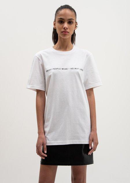 Helmut Lang Smart People T-Shirt - White