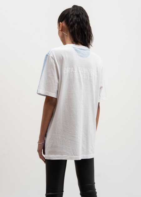 Helmut Lang Square T-Shirt - White Sky