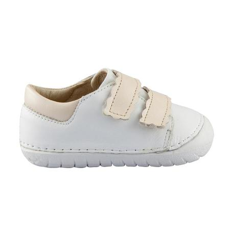 KIDS Old Soles Pave Curve Shoes - Snow White/Pearl