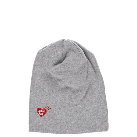 Human Made Embroidered Logo Beanie - Gray