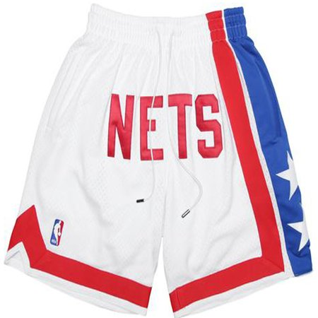 Just Don Don C '89 Nets Shorts - WHITE