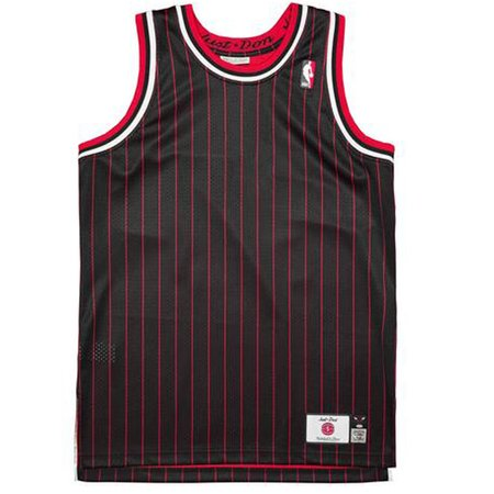 Just Don No Logo Bulls Jersey - Black/White/Red