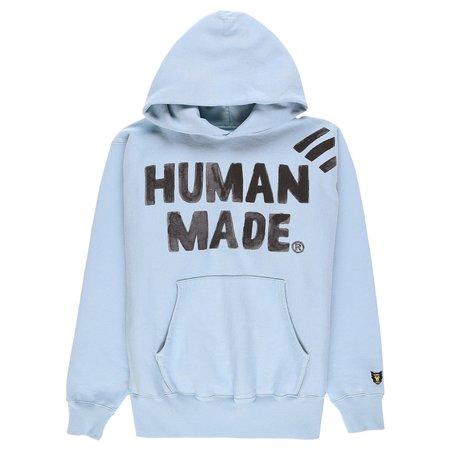 Human Made Pizza Hoodie - BLUE