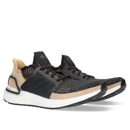 outlet store dbd24 a429a Adidas UltraBOOST 19 - Core BlackRawsanGrey ...