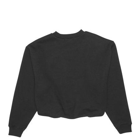 ALEXANDER WANG Dense Fleece Crewneck Sweatshirt - Black