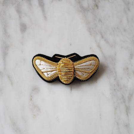 ELEN DANIELLE HONEY BEE BROOCH - GOLD/BLACK
