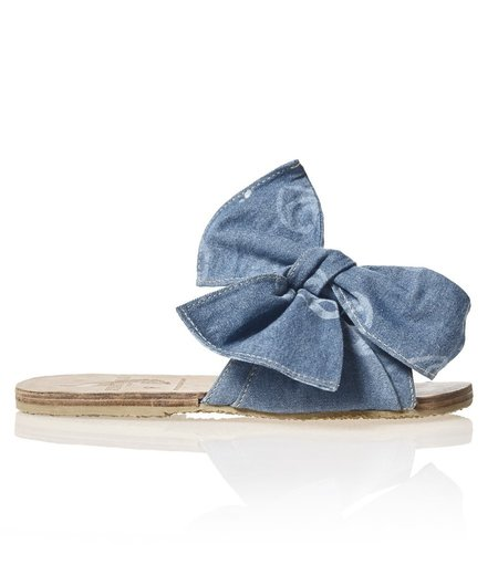 Brothers Vellies Burkina Sandal - Denim