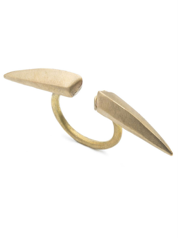NATALIE FRIGO Medium Claws Ring