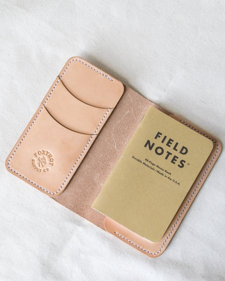 Foxtrot Supply Co. Travel Wallet - Natural