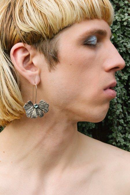 Moon + Arrow Sun Palm Earrings
