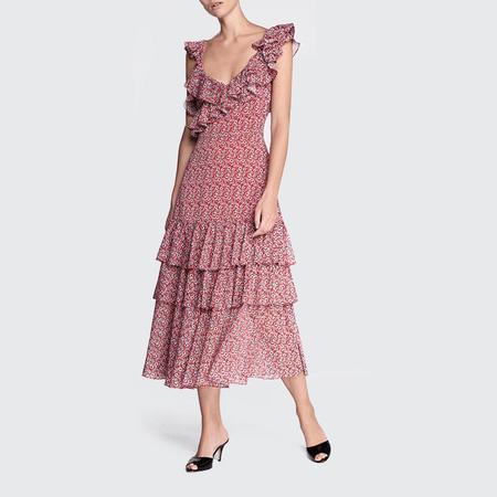 2db3224081f8 Marissa Webb Lisandra Print Dress Marissa Webb Lisandra Print Dress