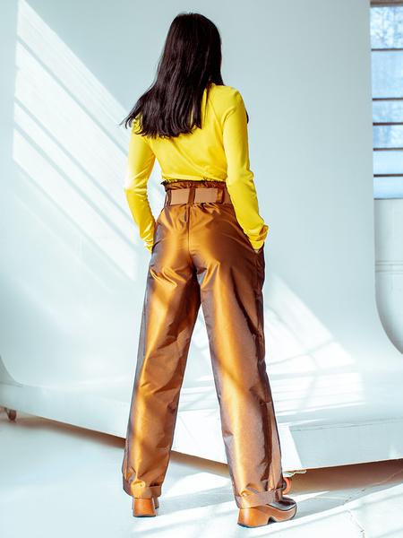 Unisex Halo Labels Opalescent Pant - Rusty