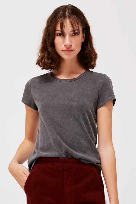 Lacausa Luxe Frank Tee in Slate