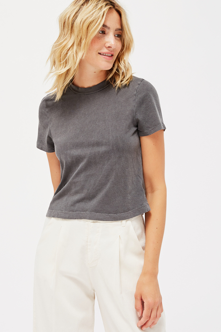 Lacausa Foster Tee in Slate