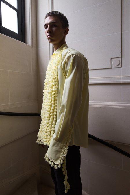LOEWE Pompoms Tuxedo Front Shirt - Yellow