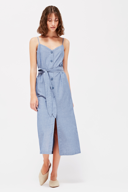 9d1cb13990e Lacausa Bluebell Dress in Chambray