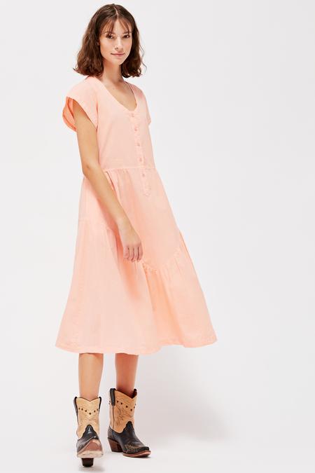 Lacausa Virginia Dress in Guava