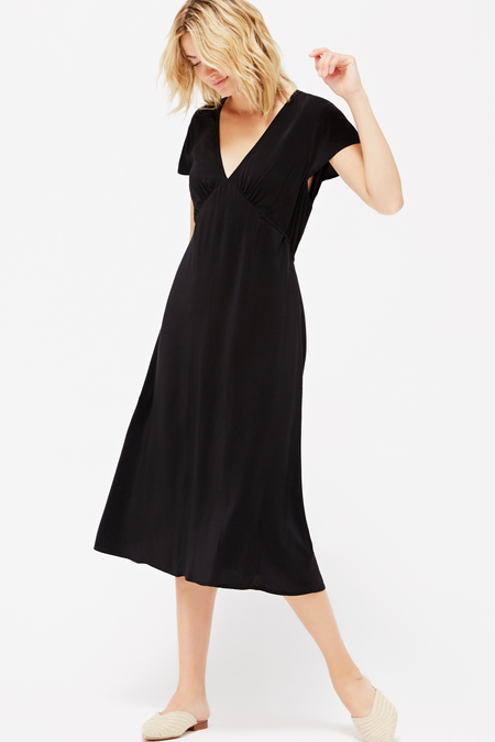 Lacausa Fairfax Vivien Dress in Tar