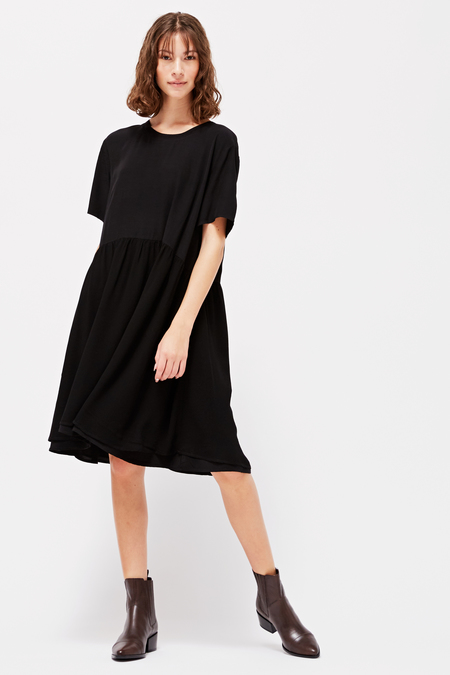 Lacausa Cassie Dress in Tar