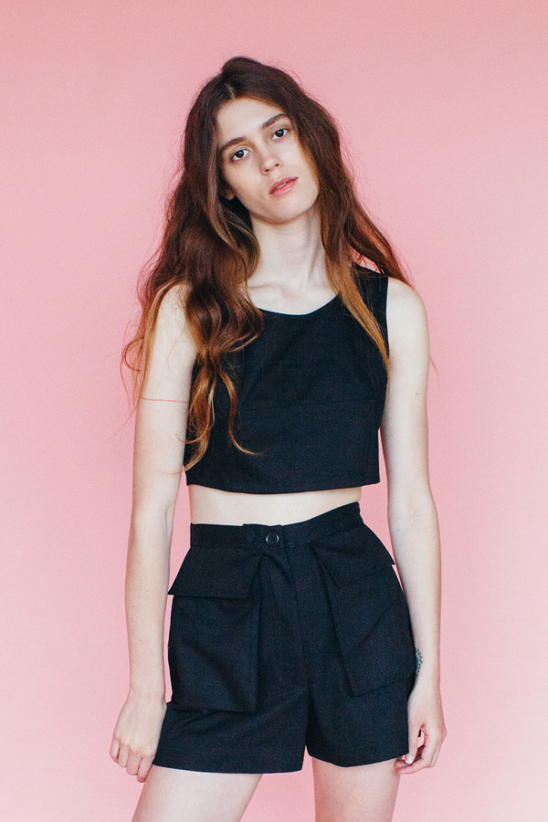 Samantha Pleet Park shorts - Black