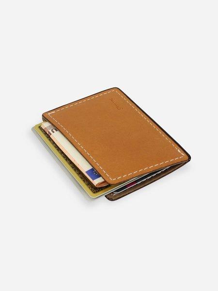 Slimmy R1S1 Mini 1-Pocket Wallet (68mm) - Antique