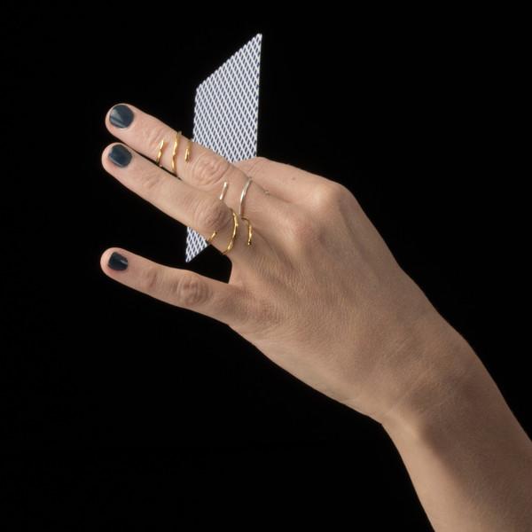 Alynne Lavigne Swirl Ring
