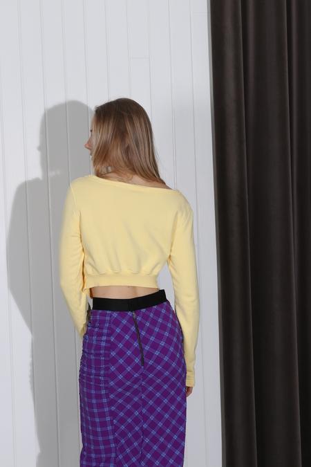 Rachel Comey Argento Sweatshirt - Yellow