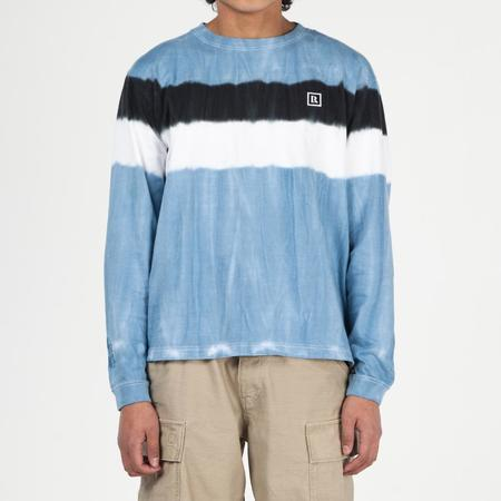 Liberaiders LR Tie Dye Long Sleeve T-shirt - Blue