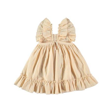 KIDS Liilu Pinafore Dress - VANILLA