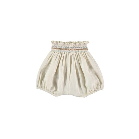KIDS Liilu Smock Bloomer - Cru Natural