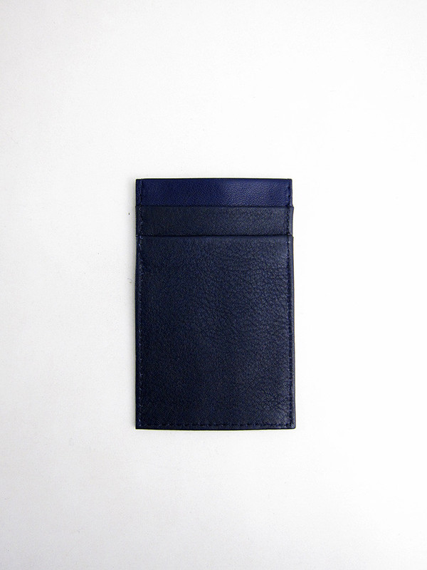 Tsatsas Cream Type 2 Wallet, Navy