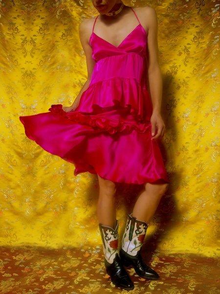 Clio Peppiatt Lorelei Dress - pink