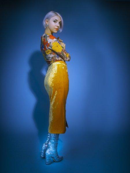 Vivetta Man Ray Top - floral