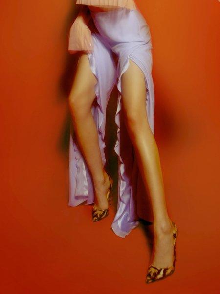 Öhlin/D All The Way Up Ruffle Pants - purple