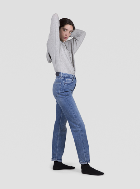 I AND ME Selvedge Slim Leg Jeans - VINTAGE
